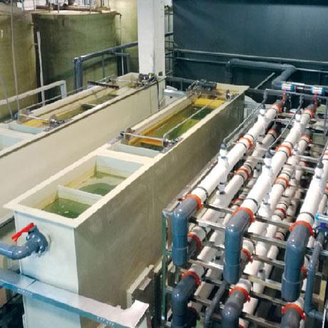 多维电絮凝处理含重金属废水技术